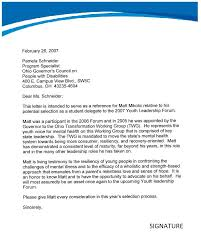 Sample letter of recommendation for a student scholarship TemplateZet