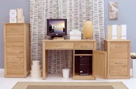 Solid Oak Office Furniture by Modern Light Oak Office Desks Zurleys