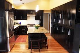 Dark And White Kitchen Cabinets 46 Kitchens With Dark Cabinets Black Kitchen Pictures Pertaining