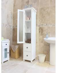 slimline bathroom storage tags white gloss tallboy bathroom