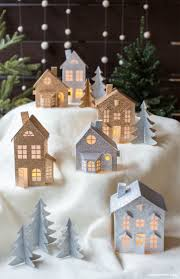 christmas decorations to make at home 45 wonderful paper and cardboard diy christmas decorations