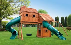Cedar Playsets Imagination 1 Backyard Playground Eastern Jungle Gym