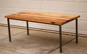 reclaimed wood and metal dining table with design photo 7031 zenboa
