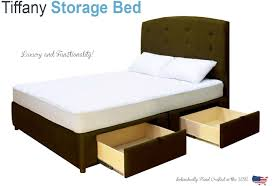 bed frames espresso king storage bed full size storage bed beds