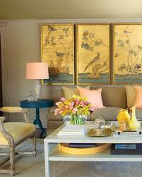 Yellow Interior by Our Favorite Colors Martha Stewart