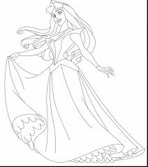 outstanding princess coloring pages with princess aurora coloring