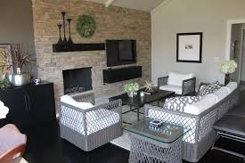 Contemporary Black Family Room Design Ideas  Pictures Zillow - Contemporary family room design
