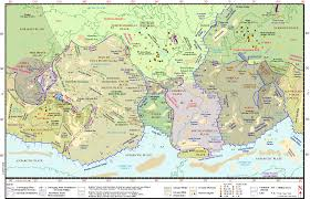 Tectonic Plate Map Earth Maps
