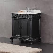 Black Distressed Bathroom Vanity bathroom vanities 36