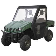 classic accessories quadgear utv cab enclosure u2014 fits kawasaki
