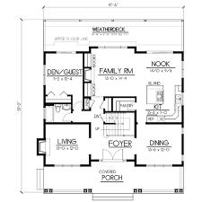 craftsman style house plan 5 beds 3 00 baths 2615 sq ft plan
