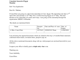 Roundshotus Goodlooking Visa Covering Letter Example With Agreeable Date Th March To The Visa Officer Consulate