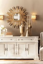 mirrored living room furniture white natural base wooden dining
