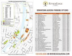 Chicago Parking Map by Your Backyard Away From Home Riveredge Park Aurora