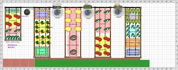 Planning A Raised Bed Vegetable Garden by Raised Bed Vegetable Garden Layout Gardening Ideas