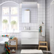 bathroom furniture ideas ikea bathroom with white wash stand mirror and benches solid birch
