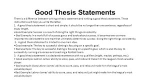 Resume Examples What Is A Thesis Statement Students Have Heard The Term Thesis     FAMU Online