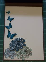 Handmade Farewell Invitation Cards Field Flowers Paper Creations