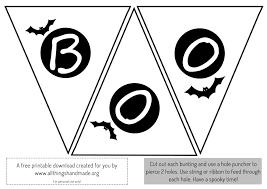 home decor printable scary halloween