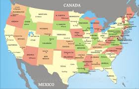 Map Of Cities In Usa by Map Of Usa States With Cities My Blog