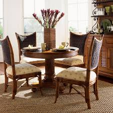 Five Piece Dining Room Sets Tommy Bahama Island Estate 5 Piece Dining Set With Mangrove Chairs