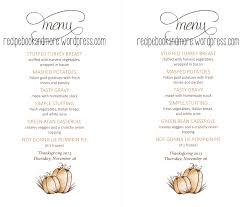 make ahead thanksgiving menu turkey time thanksgiving menu and shopping list food fam