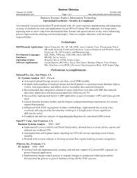 Sample Resume For Business Analyst  sample business resume     happytom co