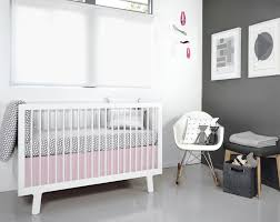 modern pink and gray crib bedding nursery design pink and gray
