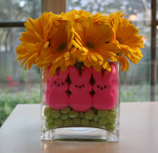easter plans peeps easter and centerpieces
