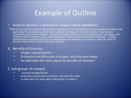 Literature Review Outline Template        Free Sample  Example