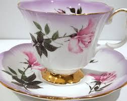 lilac tea cup etsy
