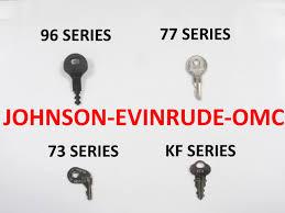 oem ignition keys for johnson evinrude u0026 omc