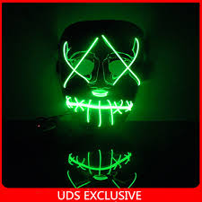 purge mask halloween city the purge 3 official trailer mask light up halloween mask party