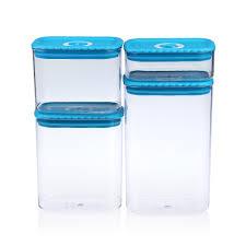 aliexpress com buy 4pcs canister set sealed plastic kitchen
