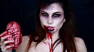 Halloween Barbie Makeup by Zombie Makeup Tutorial Youtube