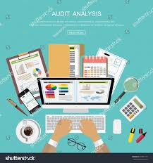 flat design ideas analysis business consulting stock vector
