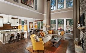 Decorating An Open Floor Plan Open Kitchen And Living Room Design Ideas