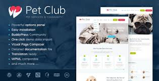 Pet Club   Services  Adoption  Dating  amp Community by ThemeREX     ThemeForest