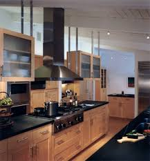 kitchens with maple cabinets kitchen contemporary with cooktop