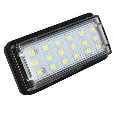 lexus lx470 uk 2017 2x error free led smd license plate light for toyota land