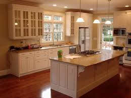 Painted Kitchen Ideas by Kitchen No Upper Cabinets Without Eiforces Kitchen Design
