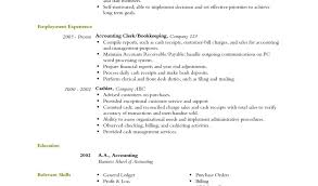 Resume Examples  Accounting Resume Objectives for Summary of