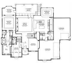Executive Ranch Floor Plans Kingston Ranch Thomas David Builders