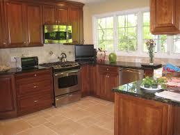 Kitchen Cabinets Mahogany Kitchen Enchating Modern Small U Shaped Kitchen Design With Dark