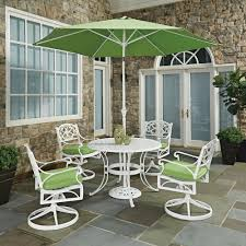 Vintage Brown Jordan Patio Furniture - hampton bay lemon grove 7 piece wicker outdoor dining set with
