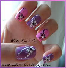 easy floral nail art how you can do it at home pictures designs