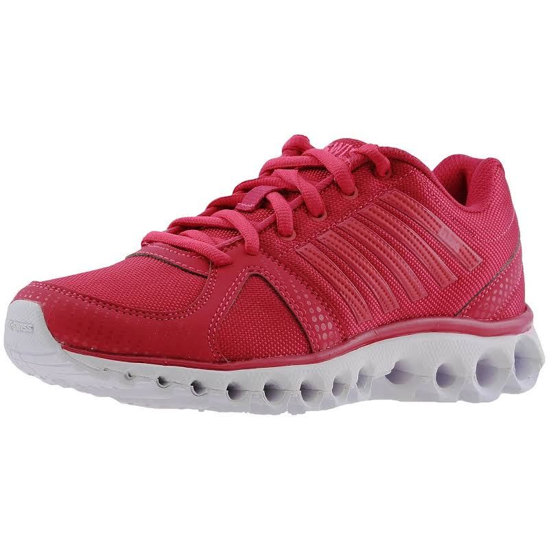 K-Swiss X-160 Cmf Low Bright Rose / White Ankle-High Running Shoe 6.5M