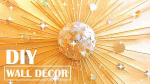 turn old cds into wall decor diy starburst mirror room decor