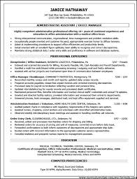 Medical Office Assistant Resume Examples by Office Administration Resume Examples Free Free Samples