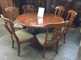 Round Dining Room Table For 10 Dining Tables Ethan Allen Round Dining Table Vintage Thomasville